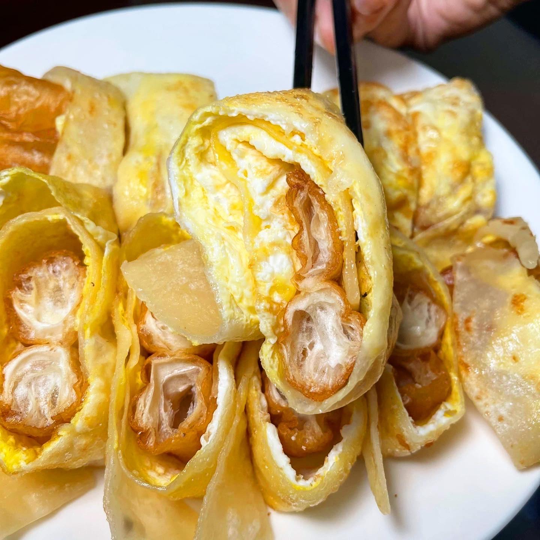 雙黃油條蛋餅