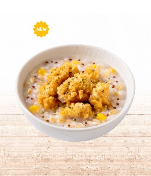 紅藜燕麥嫩雞粥