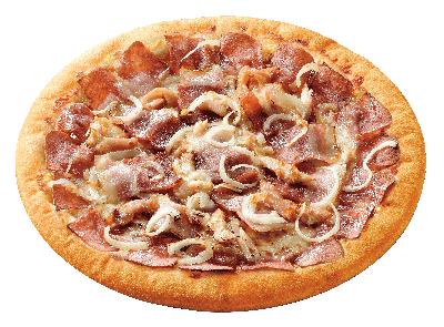 炭火肉食披薩