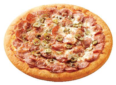 美式嗆司臘腸披薩
