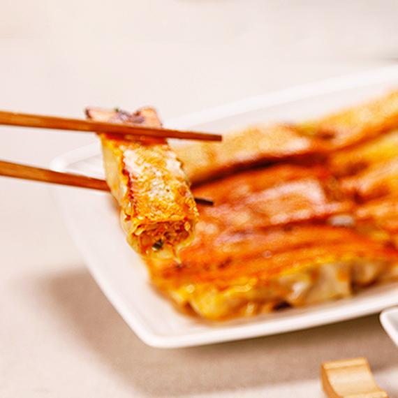 八方雲集韓式辣味鍋貼