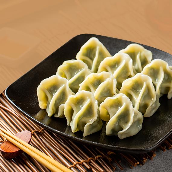 八方雲集韭菜水餃