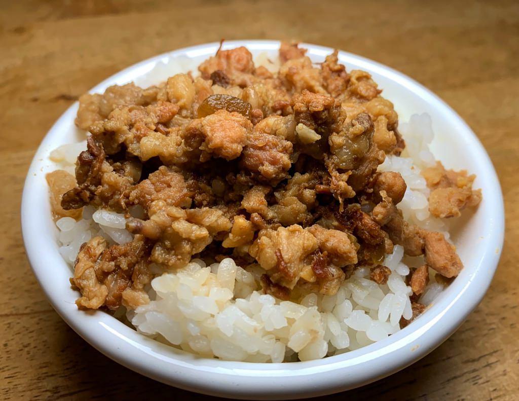 瓜仔魯肉飯