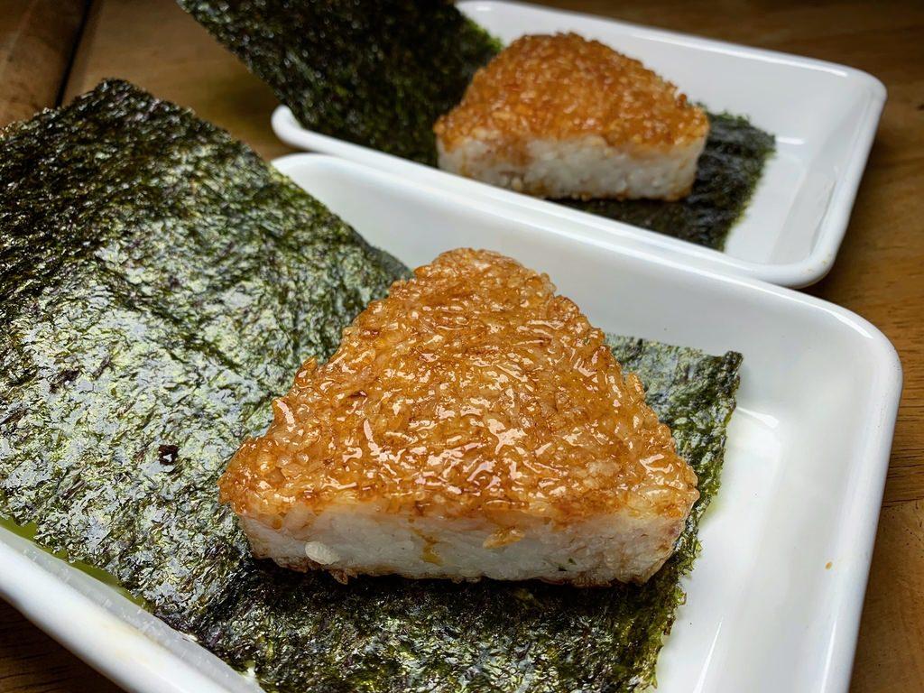 海苔醬燒飯糰
