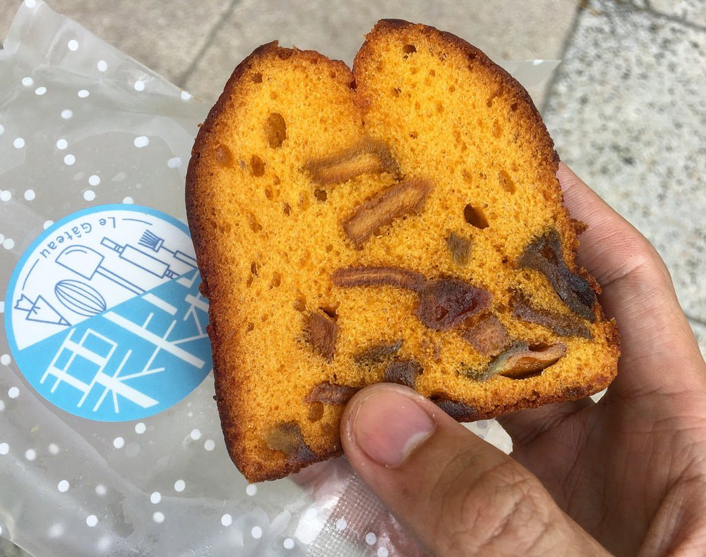 哈密瓜旅行蛋糕