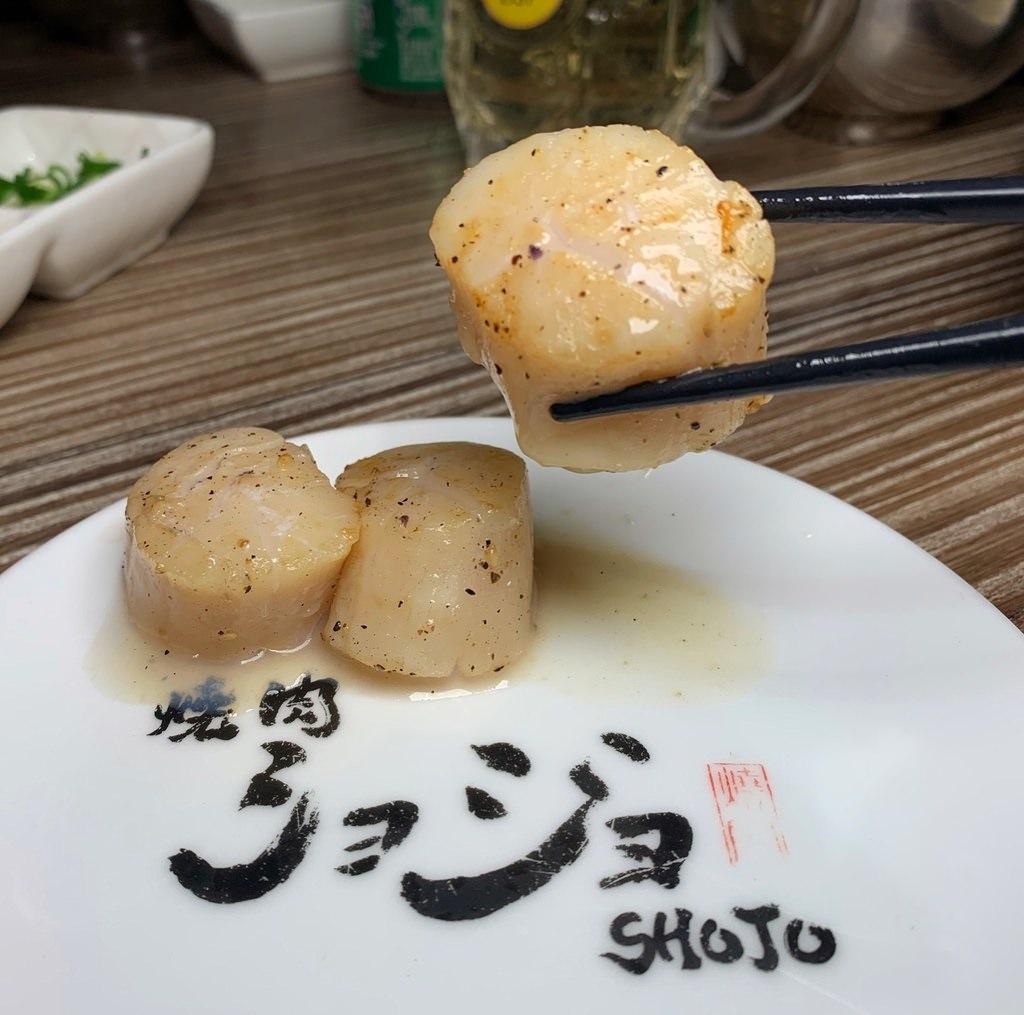 生食級干貝
